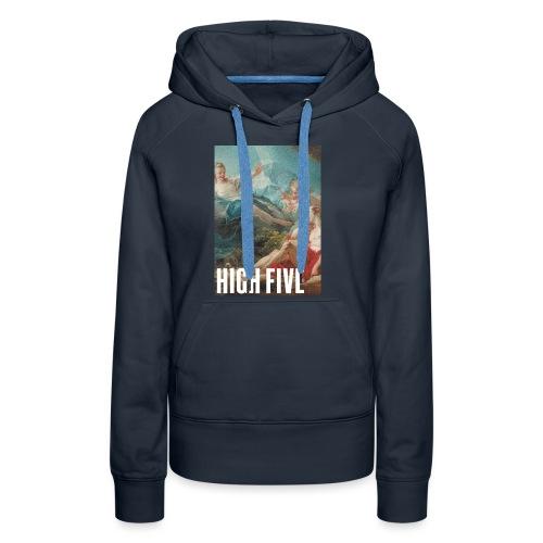 High Five - Sweat-shirt à capuche Premium pour femmes