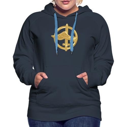 Tasse Fusiliers Commandos de l'Air - Sweat-shirt à capuche Premium pour femmes