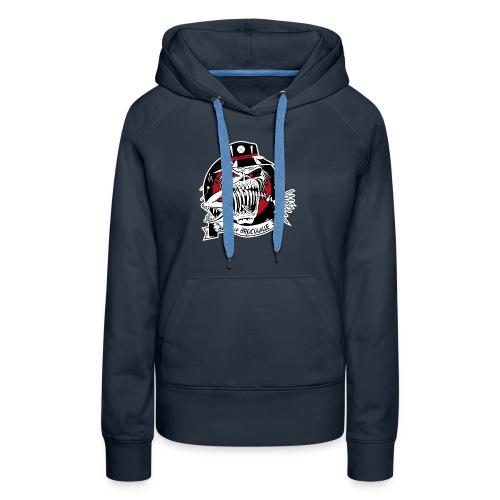 logo bandofbrocouille-01 - Sweat-shirt à capuche Premium pour femmes