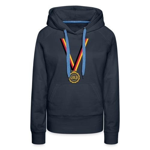 Goldmedaille Deutschland - Frauen Premium Hoodie