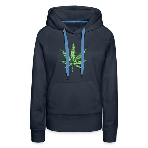 Weed Leaf - Vrouwen Premium hoodie