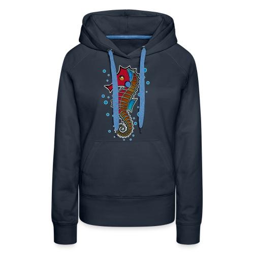 seepferdchen, sea horse, hippocampus - Frauen Premium Hoodie