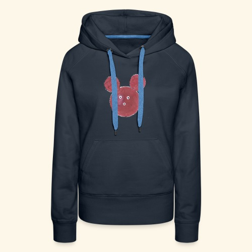 SOURIS2 - Sweat-shirt à capuche Premium pour femmes