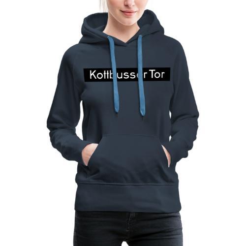 Kottbusser Tor KREUZBERG - Felpa con cappuccio premium da donna