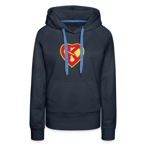 super kanak - Sweat-shirt à capuche Premium pour femmes