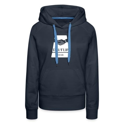 Casquette Dauflip - Sweat-shirt à capuche Premium pour femmes