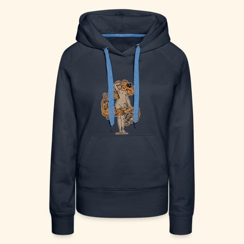 FLORA NEGRA (LANDFALL) COLOUR - Frauen Premium Hoodie