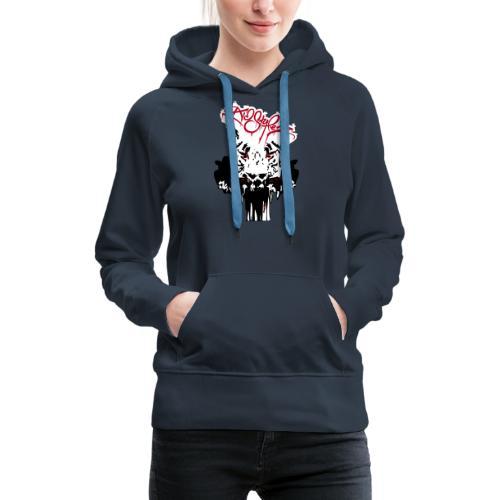 Tiger Samtig Weich - Frauen Premium Hoodie