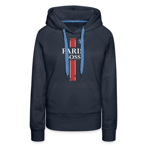 parisfinal11.png - Sweat-shirt à capuche Premium pour femmes