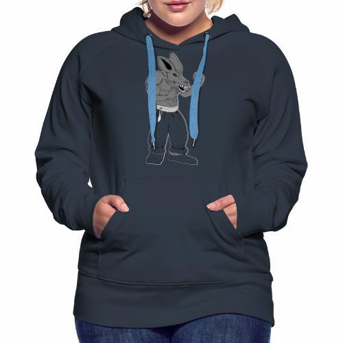Bad Rat - Sweat-shirt à capuche Premium pour femmes