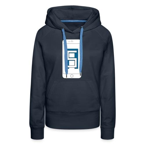 Be Yourself T-shirt - Women's Premium Hoodie