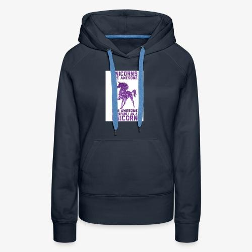 Unicorn - Women's Premium Hoodie