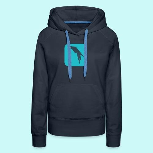 Parrot Security Logo cyano - Women's Premium Hoodie