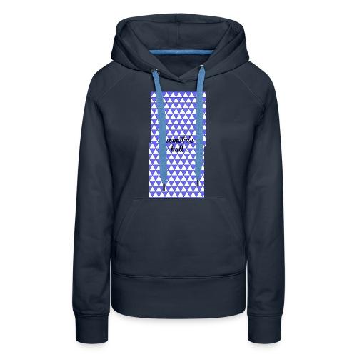 coque pour 4s (geometric hull) - Sweat-shirt à capuche Premium pour femmes