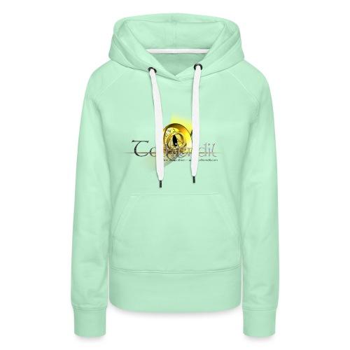 tolkiendil griffe 2 280 200mm - Sweat-shirt à capuche Premium pour femmes