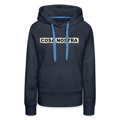 COSA MOBsTER.png - Sweat-shirt à capuche Premium pour femmes