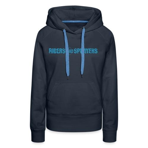 logo officiel RLS - Sweat-shirt à capuche Premium pour femmes