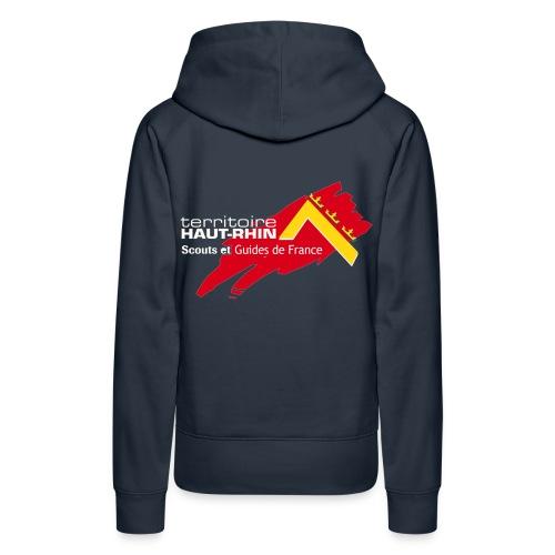 logosgdf68ts - Sweat-shirt à capuche Premium pour femmes