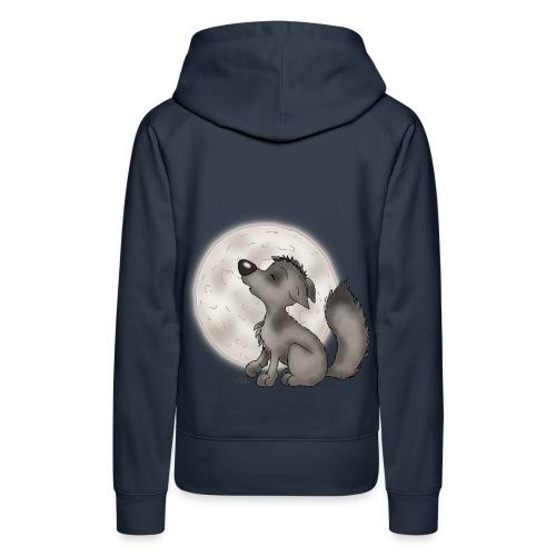 Wölfchen - Frauen Premium Hoodie