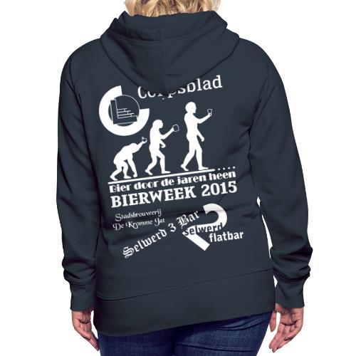 Bierweek 2015 - Vrouwen Premium hoodie