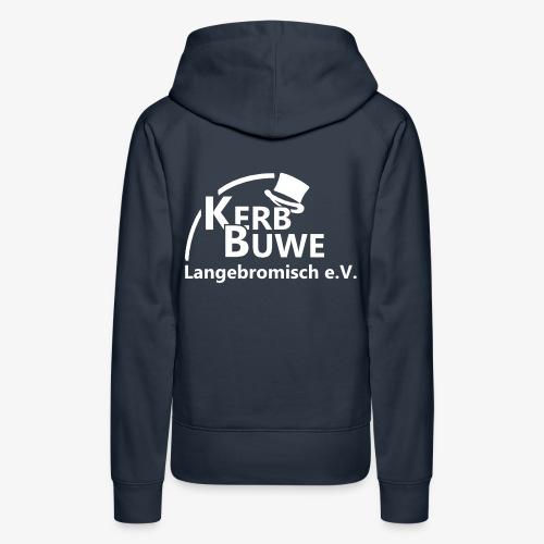 Kerbbuwe (weiß) - Frauen Premium Hoodie