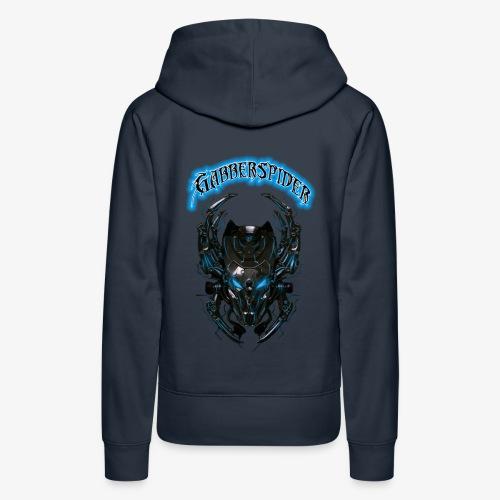 Gabberspider blue - Women's Premium Hoodie