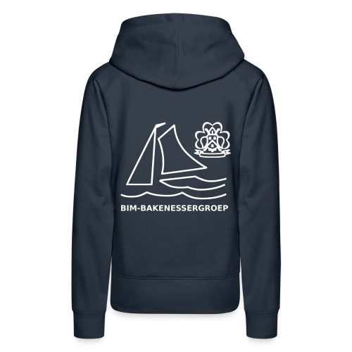 BIM Logo - Vrouwen Premium hoodie
