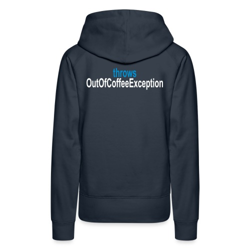 Java Kaffee - Frauen Premium Hoodie