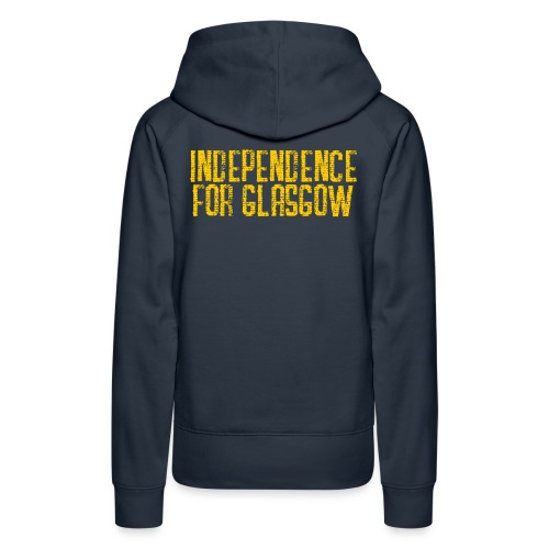 Independence for Glasgow - Women's Premium Hoodie