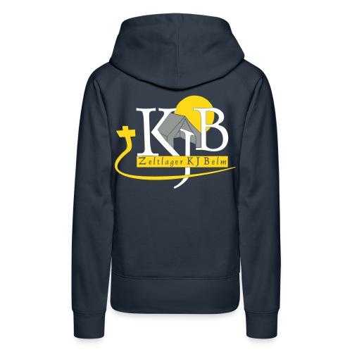 kjb logo zeltlager white - Frauen Premium Hoodie