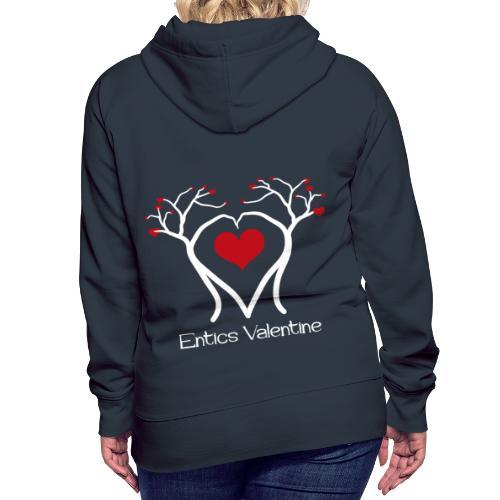 Saint Valentin des Ents - Sweat-shirt à capuche Premium pour femmes