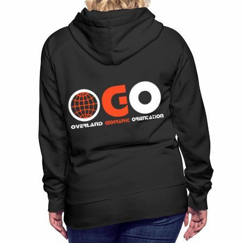 OGO-18 - Sweat-shirt à capuche Premium pour femmes