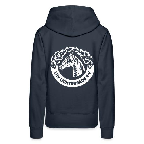 horse_logo_white_big - Frauen Premium Hoodie