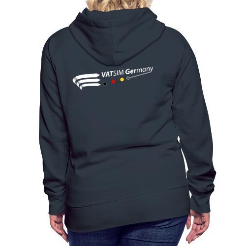 VATGer Logo White - Frauen Premium Hoodie