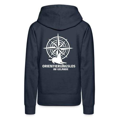 Orientierungslos Kompass - Frauen Premium Hoodie