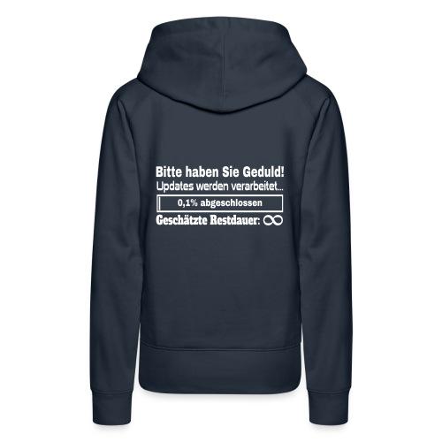 Update Ladebalken - Frauen Premium Hoodie