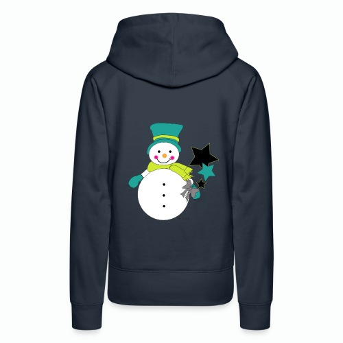 Snowtime-Green - Frauen Premium Hoodie