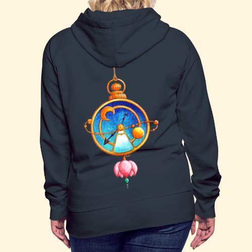 Montre Magique - Sweat-shirt à capuche Premium pour femmes