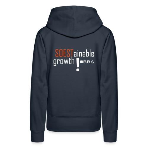 SOESTainable growth - Women's Premium Hoodie