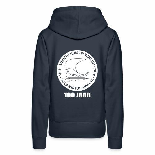 navy zuiderkruis - Vrouwen Premium hoodie
