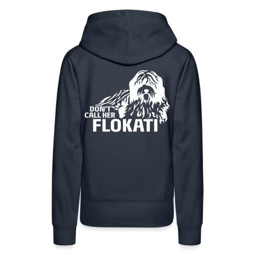 Flokati H - Frauen Premium Hoodie