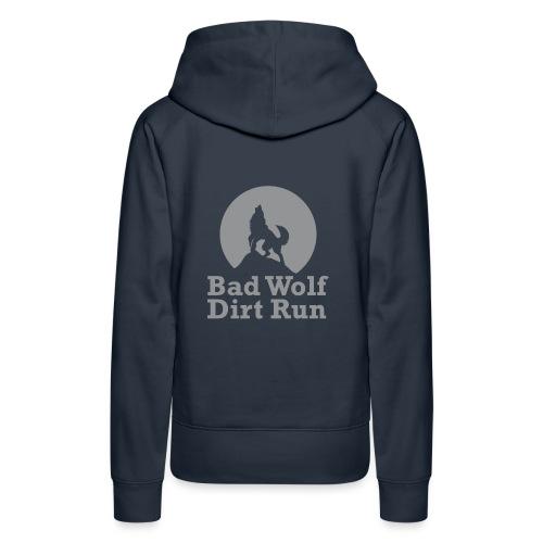 BWDR Logo Grau groß - Frauen Premium Hoodie