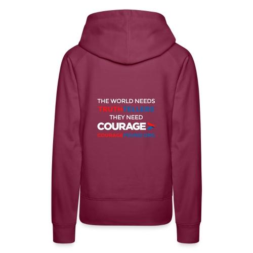 Truthtellers Need Courage - Women's Premium Hoodie