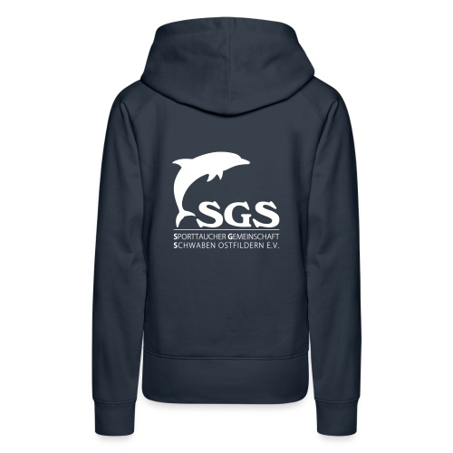 SGS Komplettlogo 2 - Frauen Premium Hoodie