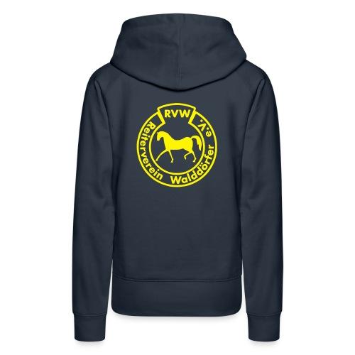 RVW Logo gelb - Frauen Premium Hoodie