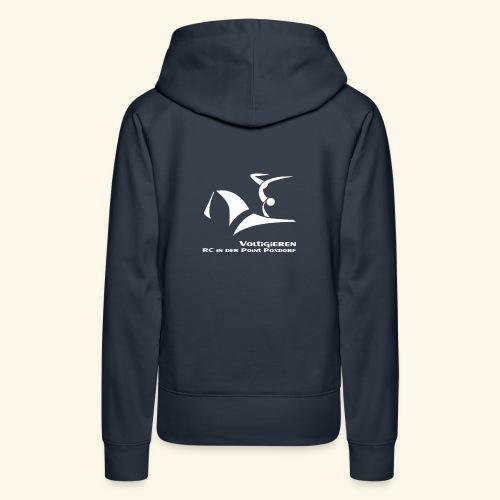 Fan- und Trainingskleidung_Logo weiß - Frauen Premium Hoodie