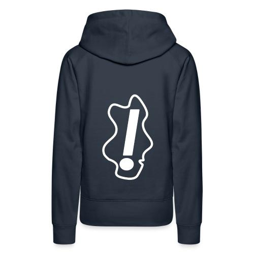 hoofd png - Vrouwen Premium hoodie