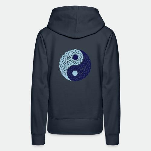 Yin und Yang Keltische Knoten Geschenk Yoga Zen - Women's Premium Hoodie