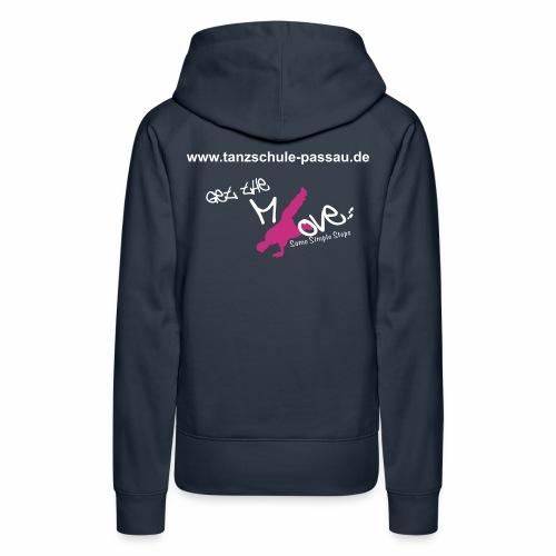 Schriftzug dance academy_ - Frauen Premium Hoodie