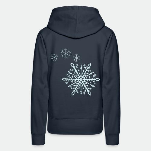 Snowflakes arc - Women's Premium Hoodie